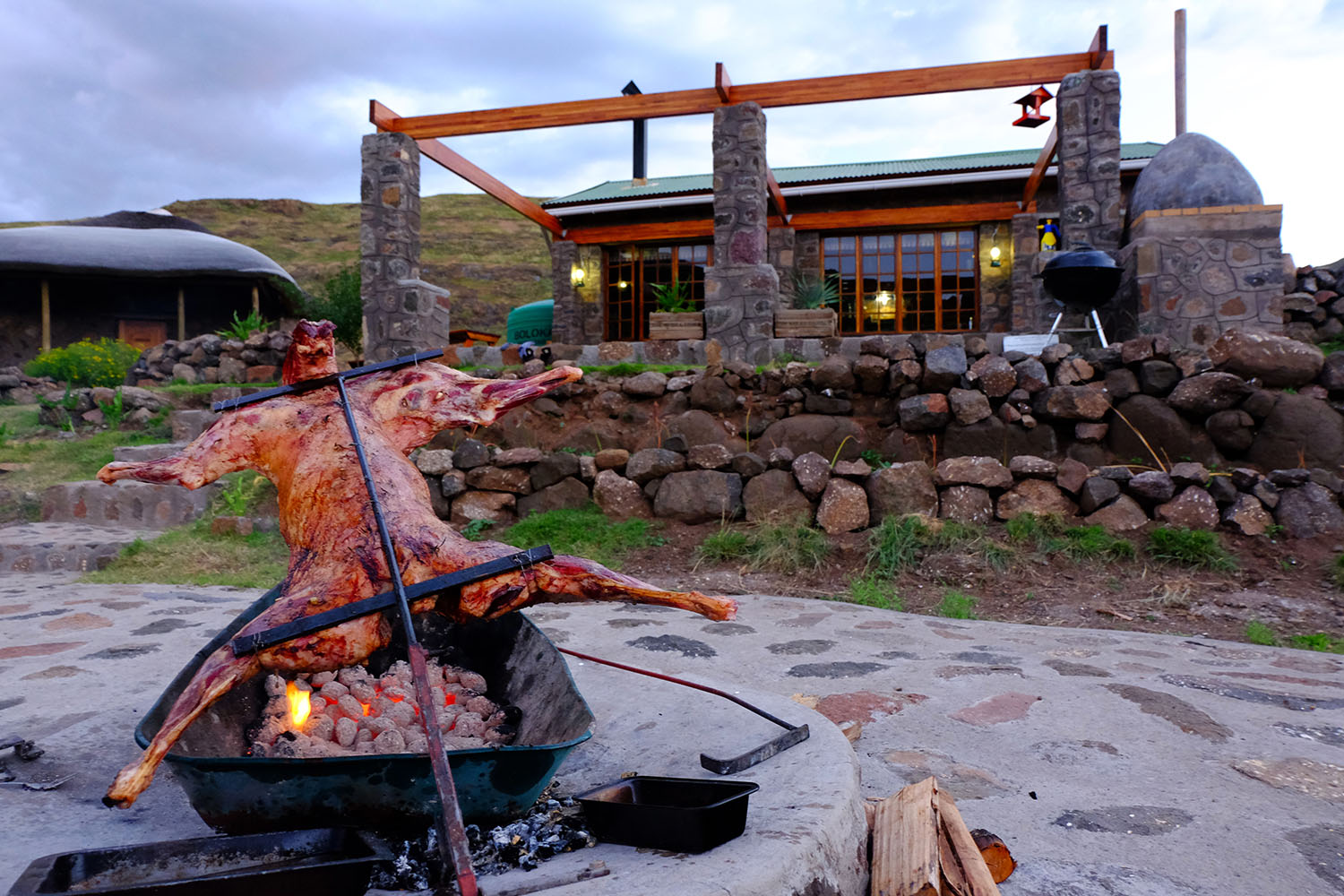 lesotho-makhangoa-community-camp-tours-tourette-fishing-braai